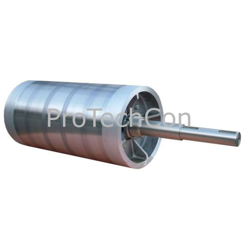 Magnetic pulley for conveyor PM