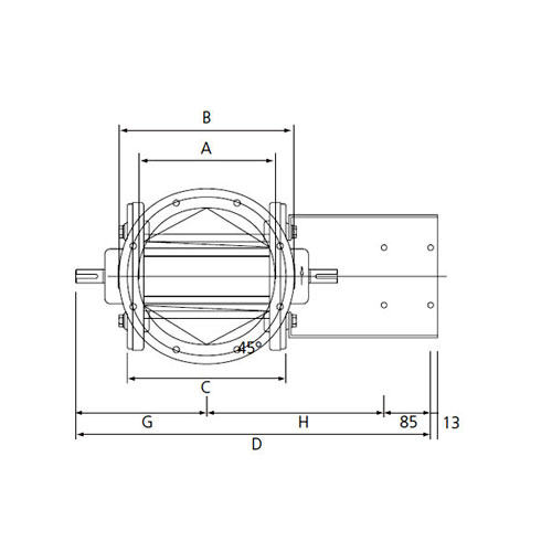 Cast-iron rotary valves